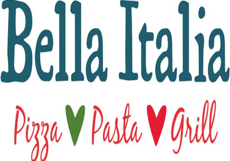 Bella Italia Menu Gravity
